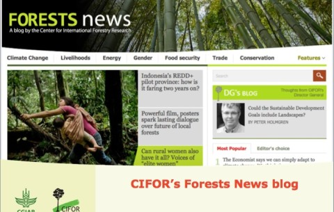 CIFOR Forests News and multilingual social media