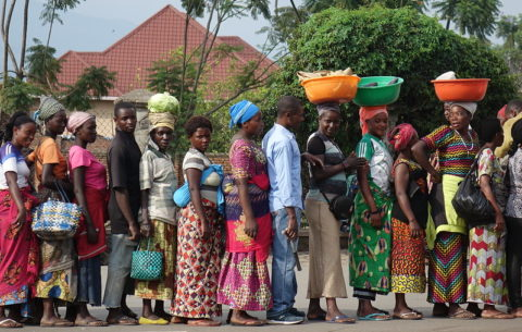 Women at the Rwanda border: Cross border traders persevere despite COVID-19 challenges